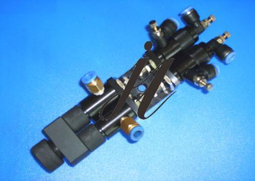 jl-h1919ab双气缸可调回吸式双液点胶阀图片