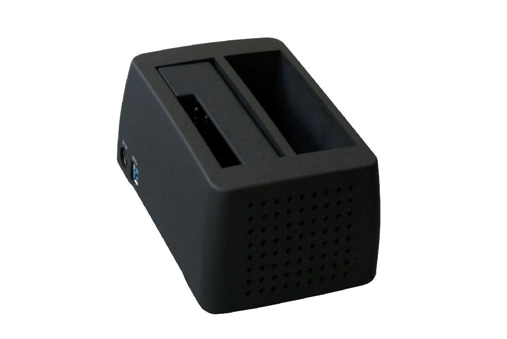 """2.5""""&3.5""""Superspeed USB3.0 to SATA Docking with Fan 2"""