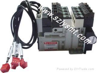 维修JUKI 2050真空电磁阀,KE2050真空电磁阀 1