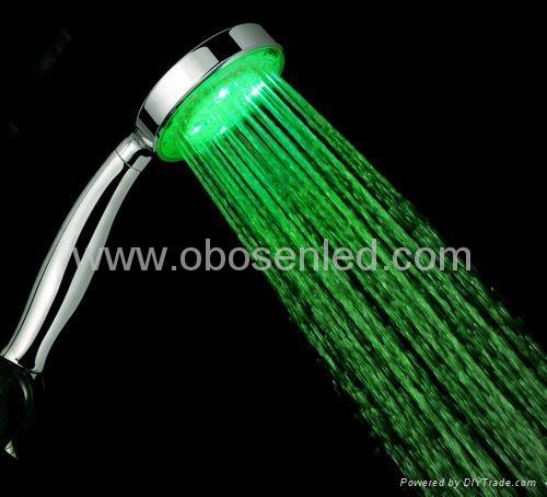 LED shower head,blue color  1