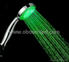 LED shower head,blue color