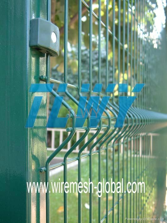 Fencing Wire Mesh|Frame fence|Triangular Bending Fence|Double
