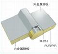 DW1000聚氨酯夹心板