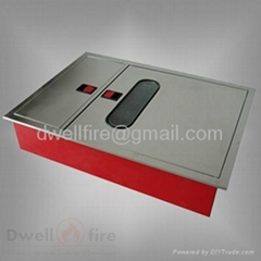 Stainless steel fire cabinet