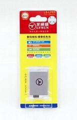 佳能数码单反相机电池LPE5
