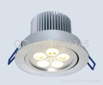 LED天花燈5*1W 1