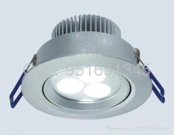 LED天花燈5*1W 3