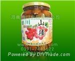 德川食品供應山楂水果罐頭