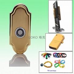 TM card cabinet lock
