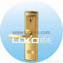 RF card electronic hotel door lock