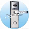 RF electronic hotel card door lock