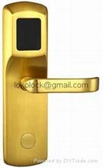 Brass material hotel lock