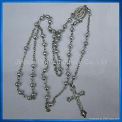 6mm Fake Pearl Beads Rosary,Rosario