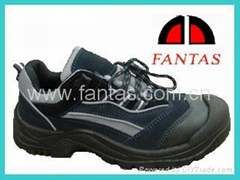 low cut PU outsole steel toecap safety shoes