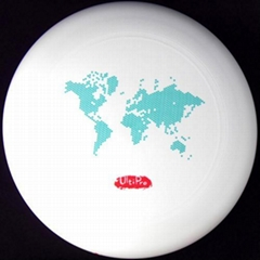 175 Gram Ultimate Disc/ Frisbee- World Map