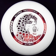 "175 Gram Ultimate Disc/ Frisbee- ""I'm not"" Series"