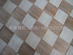 竹皮编织品 拼花竹皮 竹皮板材
