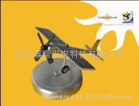 Solar Plane Model as Car Decoration