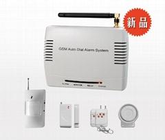 GSM短信遙控防盜報警器