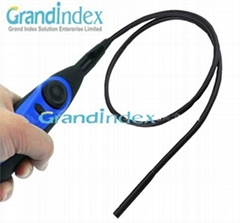USB Video Inspection 4 LED Borescope Endoscope 7mm Waterproof Camera Snake Scope