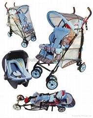 背對背嬰儿手推車(多項專利)
