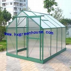 Aluminum hobby greenhouse