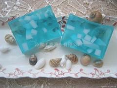 Blue berry essence oil soap