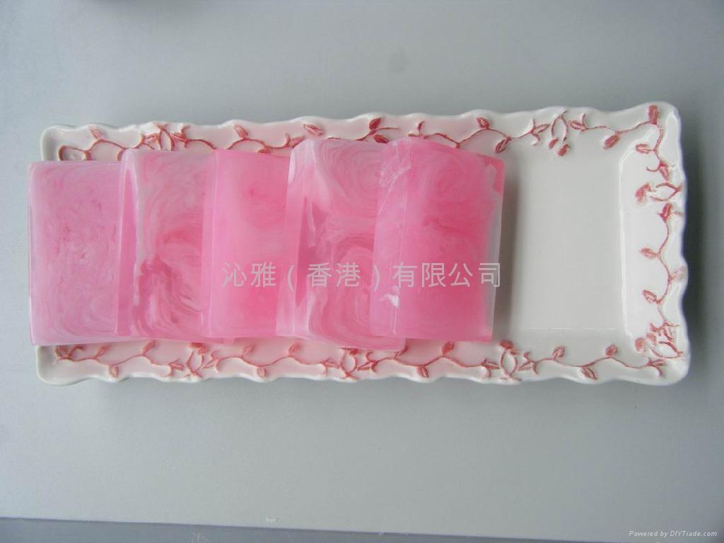 玫瑰精油皂 5