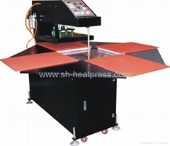 CE-approved Automatic Four Stations Heat Press Machine (CY-B)