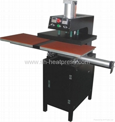 Automatic Pneumatic Double Stations Heat Transfer Machine