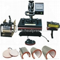 4in1, 6in1, 8in1 Combo heat press machine (t-shirt, plate, hat, mug)