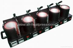 Five Stations Mug Heat Press machine