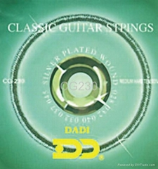 Classical gitar strings
