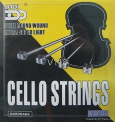 violin/viola/cello strings