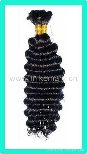 100% human hair bulk 2