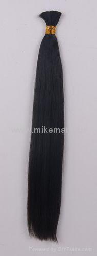 100%human hair bulk 2