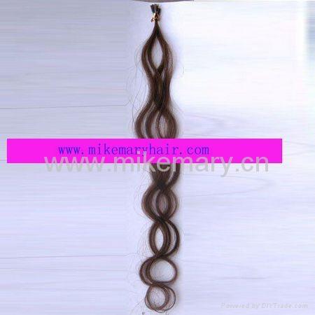 100% human hair extension 1
