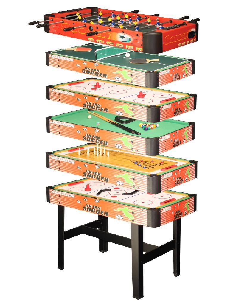 Superieur ... Multi Game Table 6 In 1   5146Group   GS (China)   Other Sports