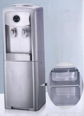 two ice box water dispenser