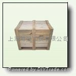 上海包装箱厂长期供应木制包装箱 1