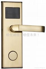 YZ100JRF不锈钢201智能感应酒店门锁/酒店锁/电子锁