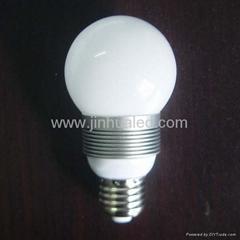 E27  3*1W球泡灯