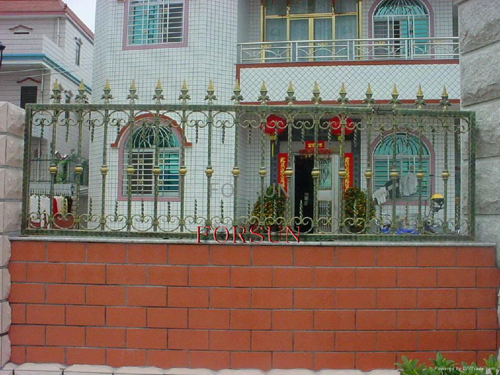 Wrought iron fence product china forsun