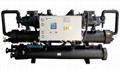 Water or ground source heat pump unit