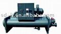 Sea water source heat pump unit (heat
