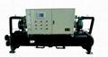 Sewage source heat pump unit central air
