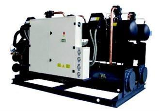Water-cooled water chiller unit (heat recovery selected) 1