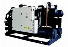 Water-cooled water chiller unit (heat recovery selected)