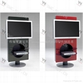glas-steel Glass TV Stand WC-ST122