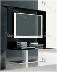 glas-steel 夏季弯玻电视柜WC-ST109